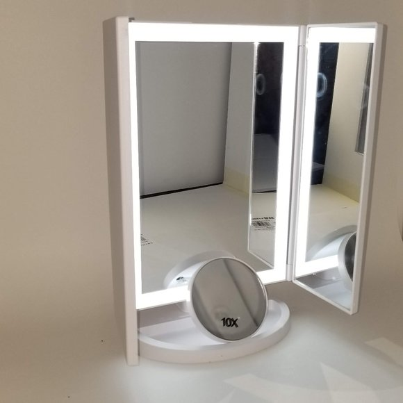 Mirror Embrace Other - Hollywood Makeup Mirrors with LED Lights.